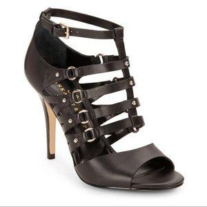 Ivanka Trump Caged Sandals Maxy Heels